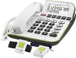 Doro Care Plus 350, eenoudig bedienbare telefoon voor ouderen, slechtzienden en slechthorenden