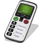 Doro senioren mobiele telefoon, grote knoppen, alarm en GPS