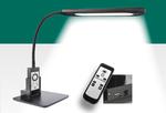 Bedieningselementen  (1)LED tafellamp (2)Stekkeraansluiting en kabel (3)Draadloze afstandsbediening