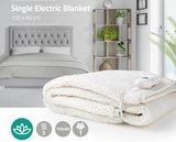 Heerlijke luxe elektrische onderdeken, voelt aan als wol, 150 x 80 cm