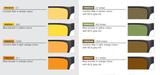 Kleuren en waarden Schweizer filterbril