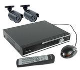 Beveiligingsset met 2 videocameras en recorder