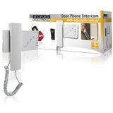 Deurbel met intercom en alarmknop_