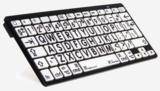 Toetsenbord grote karakters zwart/wit/zwarte karakters