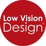 Low Vision Design Label.