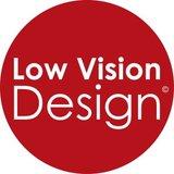 Low Vision Design Label.
