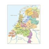 Legpuzzel Nederlandse kaart CITO