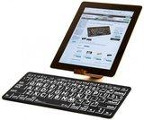 Grootletter toetsenbord speciaal voor mensen met een visuele beperking