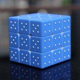 Magische kubus met voelindicatie cijfers 1 t/m 6