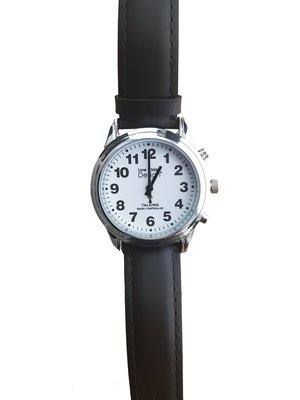 Horloge slechtziende d/h, Atomic-met spraak-Low Vision Design Label