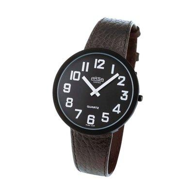 Horloge voor slechtzienden, Arsa zwart