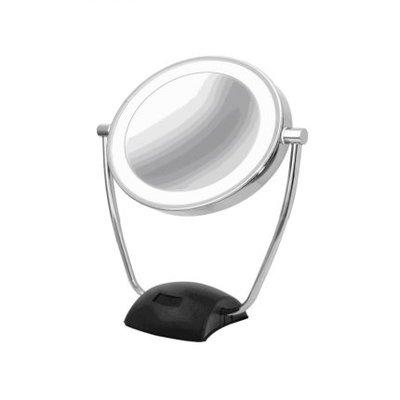 Spiegel vergroot 10x LED dimbaar