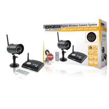 Camerasysteem draadloos en digitaal 2.4 Ghz