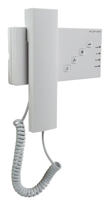 Deurbel met intercom en alarmknop