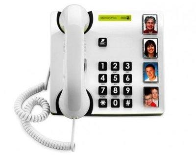 Grote toetsen telefoon met fotoherkenning