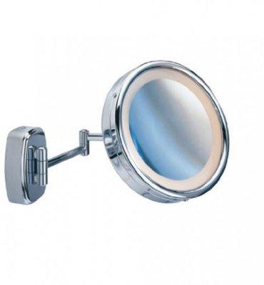 Wandspiegel met LED, vergroting 5X