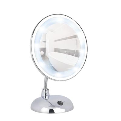 Spiegel staand, LED vergroot 3x