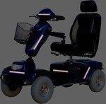 Reflectietape, uw scootmobiel/rolstoel/rollator goed zichtbaar in het donker.