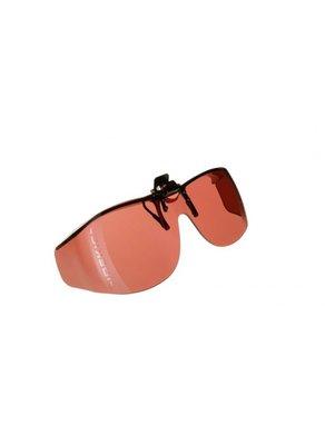 Voorzethanger zonnebril-Amber/bruin