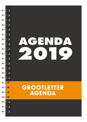 Agenda grootletter 2019 A-5