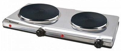 Elektrische kookplaat dubbel, Techwood