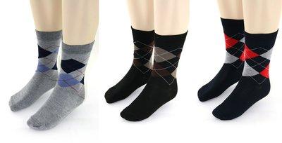 Yves Dorsey sokken voor de heren (2x) 3-pack, ruit.