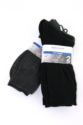 Schiesser herensokken, zacht en warm (2x 2pack)