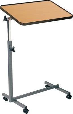 Bedleestafel, hoogte verstelbaar, top houtfineer