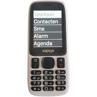 Nederlands sprekende minivision mobiele telefoon voor ouderen en slechtzienden