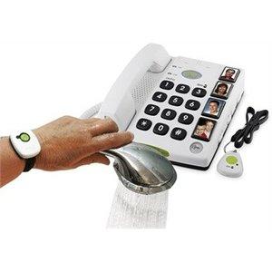 Seniorentelefoon met alarmzenders