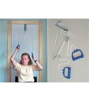 "Schouderspiertrainer ""over door pully"""